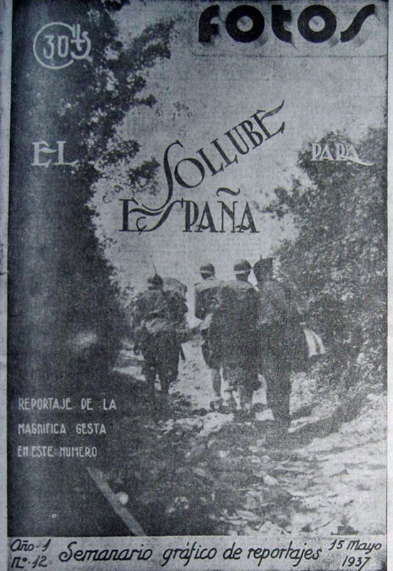 Semanario Fotos. 15-5-1937