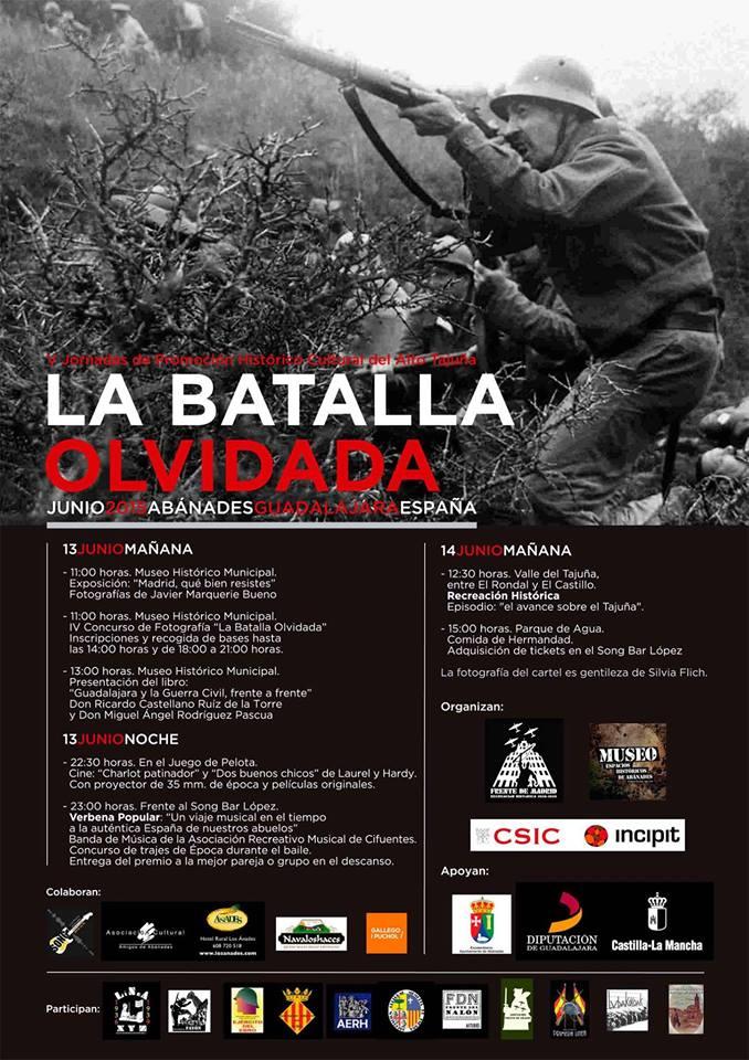 """Cartel y programa de """"La Batalla Olvidada"""" 2015"""