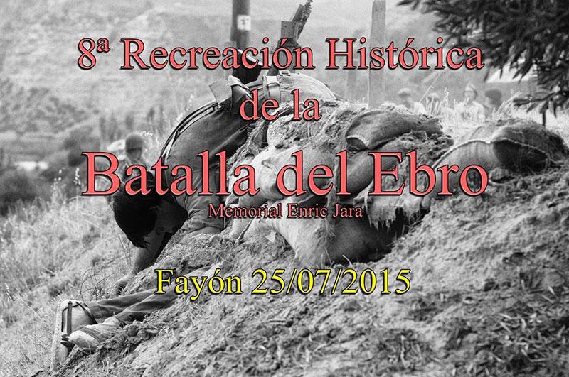 """Cartel de la """"Batalla del Ebro"""" 2015"""