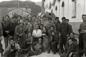 Milicianos en Alegia