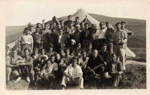Milicianos de la Columna cántabra Villarías
