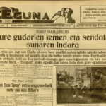 Periódico <em>Eguna</em> nº94. </br>21 de abril de 1937