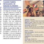 Folleto Conferencia Cuando fuimos refugiados: De Euskadi al mundo