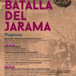 """Cartel de Arganda del Rey de """"La Batalla del Jarama"""" 2017"""