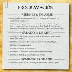 """Programa de la """"Batalla de Lopera"""" 2017"""
