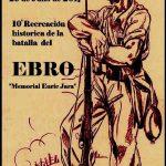 """Cartel """"10ª Recreación Histórica de la Batalla del Ebro"""" 2017"""