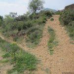 Posiciones defensivas de Las Tetas en la Serra d'Espadà - Itinerario 4