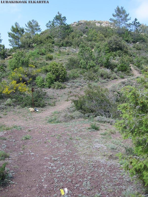 Posiciones defensivas de Las Tetas en la Serra d'Espadà - Itinerario 6