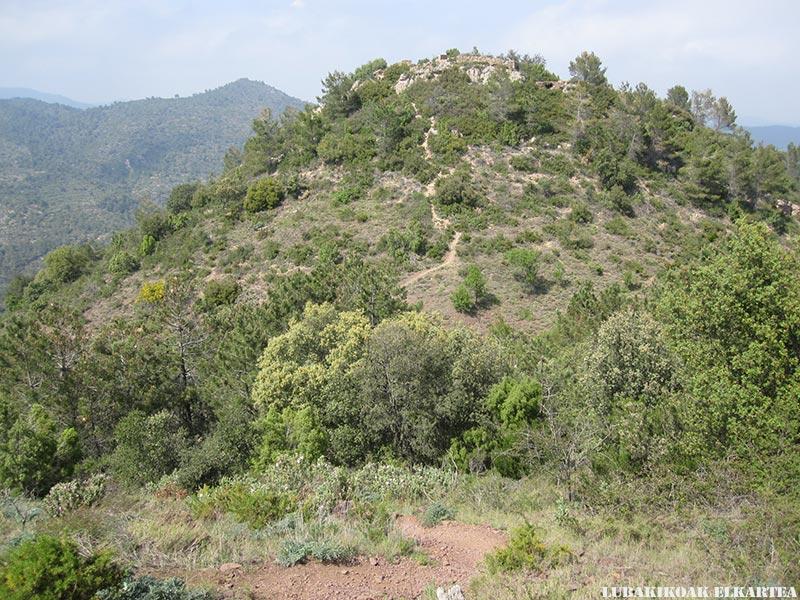 Posiciones defensivas de Las Tetas en la Serra d'Espadà - 03