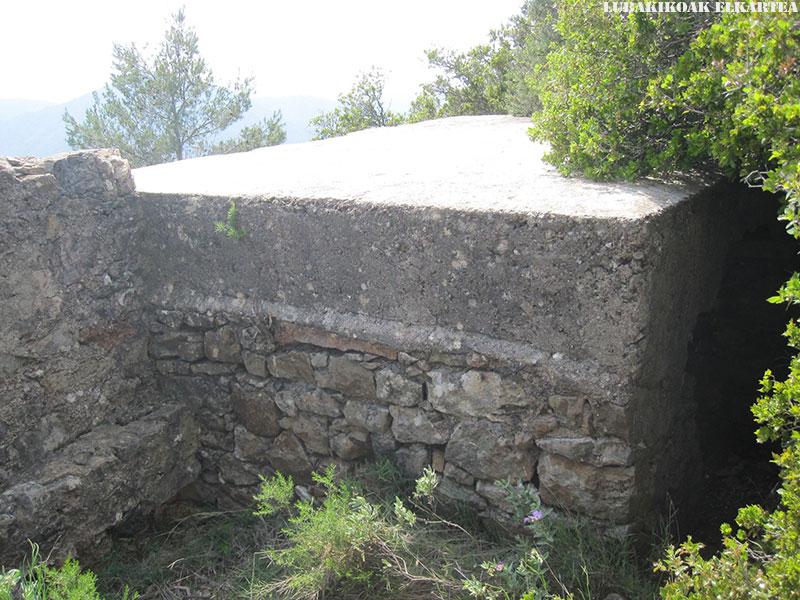 Posiciones defensivas de Las Tetas en la Serra d'Espadà - 12