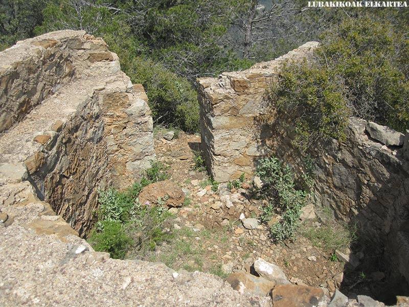 Posiciones defensivas de Las Tetas en la Serra d'Espadà - 13