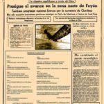 """Cartel y programa """"La Batalla del Ebro XI Recreación Histórica"""" 2018 - 2"""