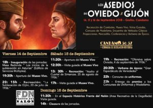 Programa Candamo 36-37 VII Jornadas de Recreación Histórica 2018