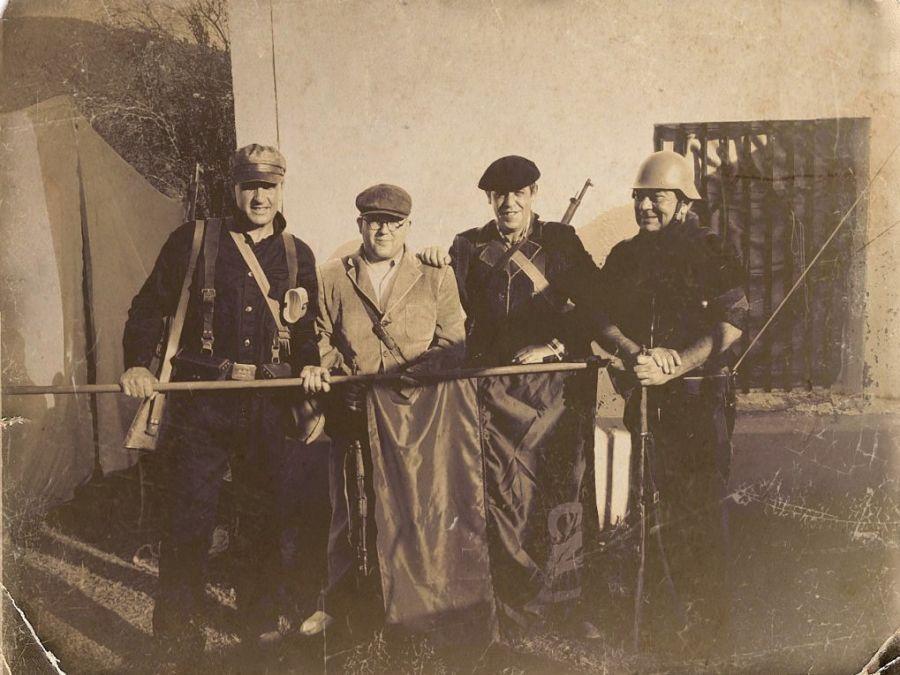 Milicias Anarquistas Vascas en Asturias - Lubakikoak