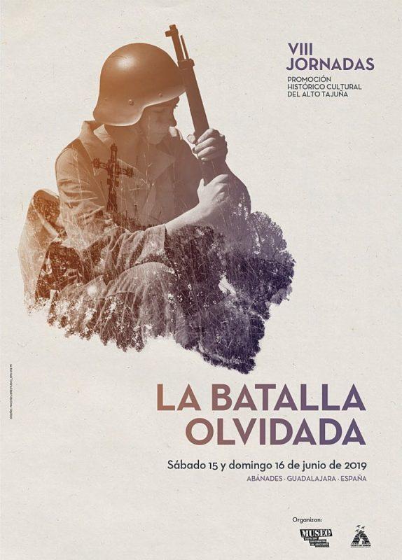 "Cartel ""VIII Jornadas La Batalla Olvidada"" 2019"