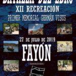 Batalla del Ebro. XII Recreación