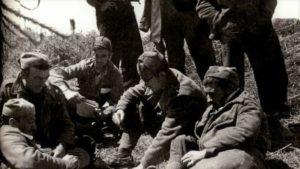 Miembros del Batallon Celta CNT nº6. Larrabetzu finales de mayo de 1937