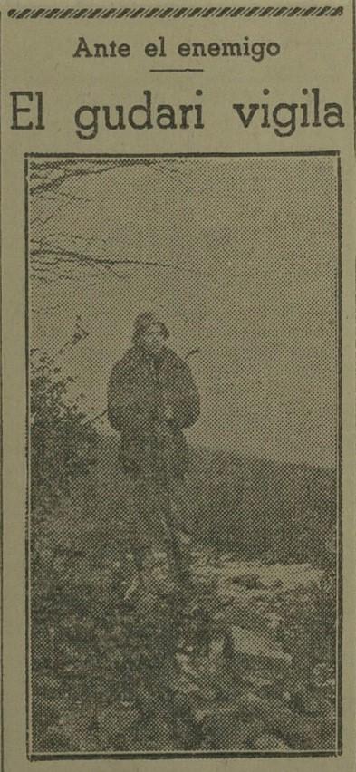 Recorte de Euzkadi del 25-12-1936