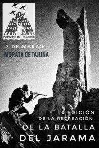 """Cartel Frente de Madrid """"La Batalla del Jarama"""" 2020"""